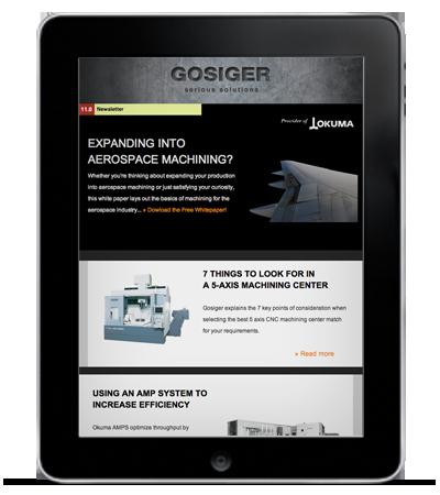 Gosiger Mobile App