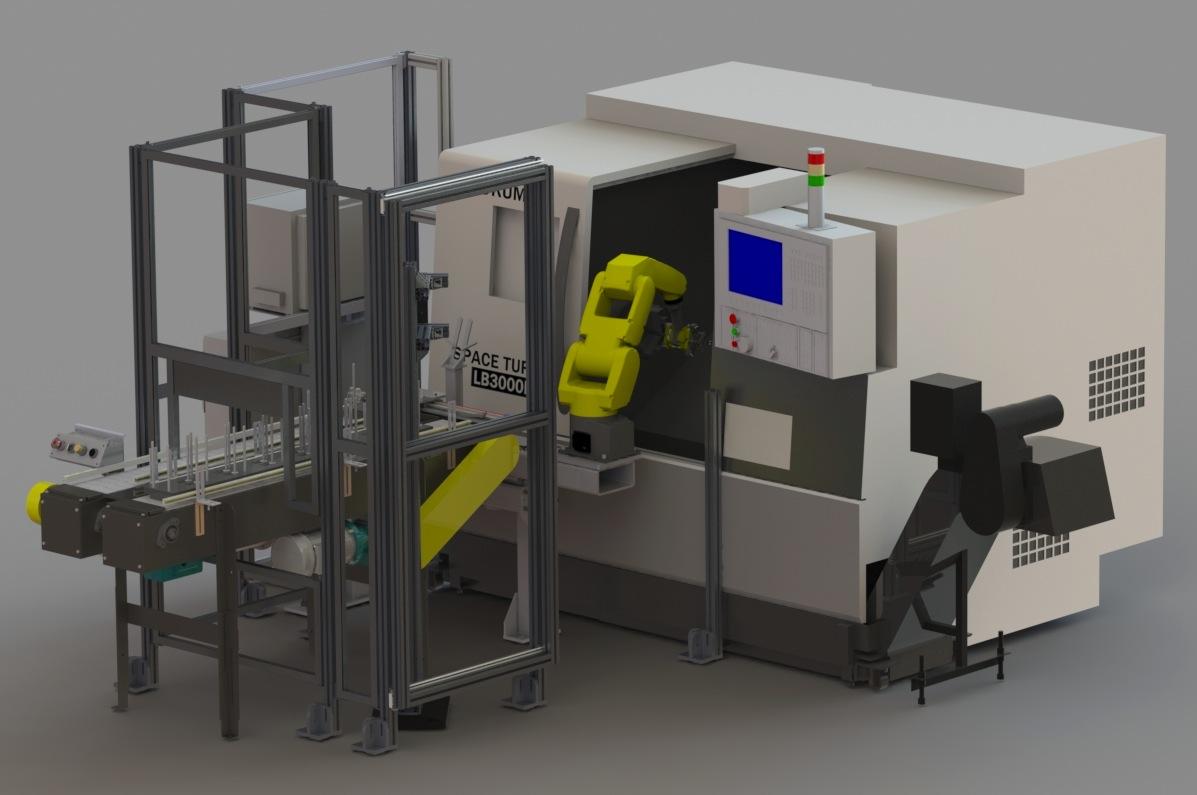 Ergonomics and Robotic Enclosure