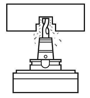 MODIG-Inverted machining center cr