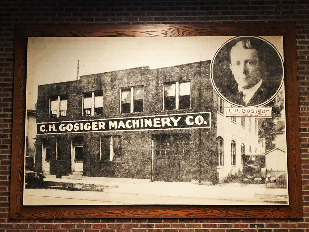 C. H. Gosiger Machinery Co.