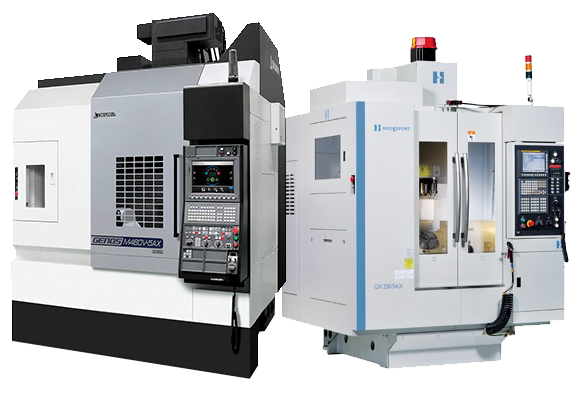 Gosiger offers 5-axis machining centers from Okuma and Hardinge
