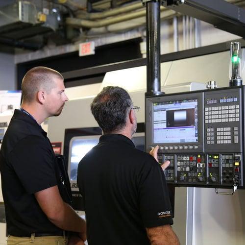 Examining a machine