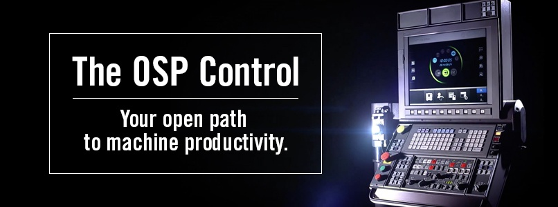 The OSP control. Your open path to machine productivity.